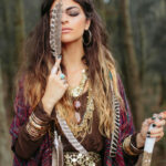 Pin On Boho Outfits Hippie Outfit Frauen