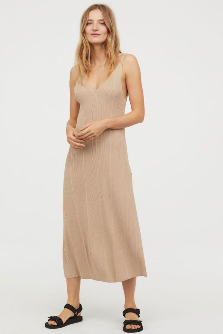 pin on want geripptes kleid