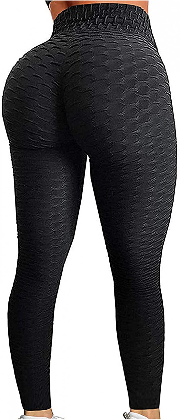 seasum women's high waist yoga pants tummy control slimming booty leggings workout running butt lift tights yoga hosen | Yoga Hosen