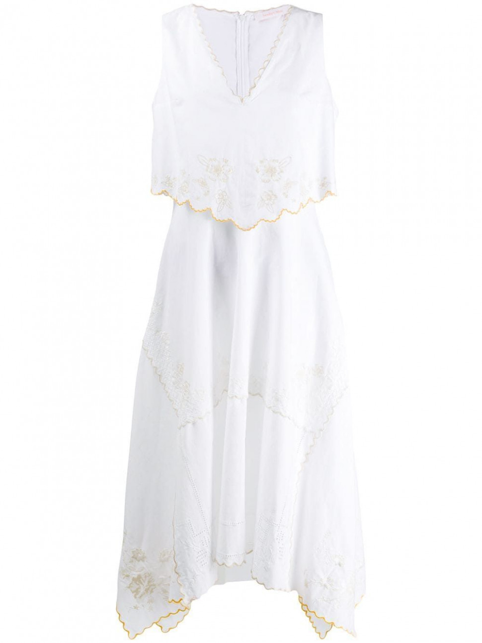 see by chloé embroidered dress farfetch embroidered dress see by chloe kleid