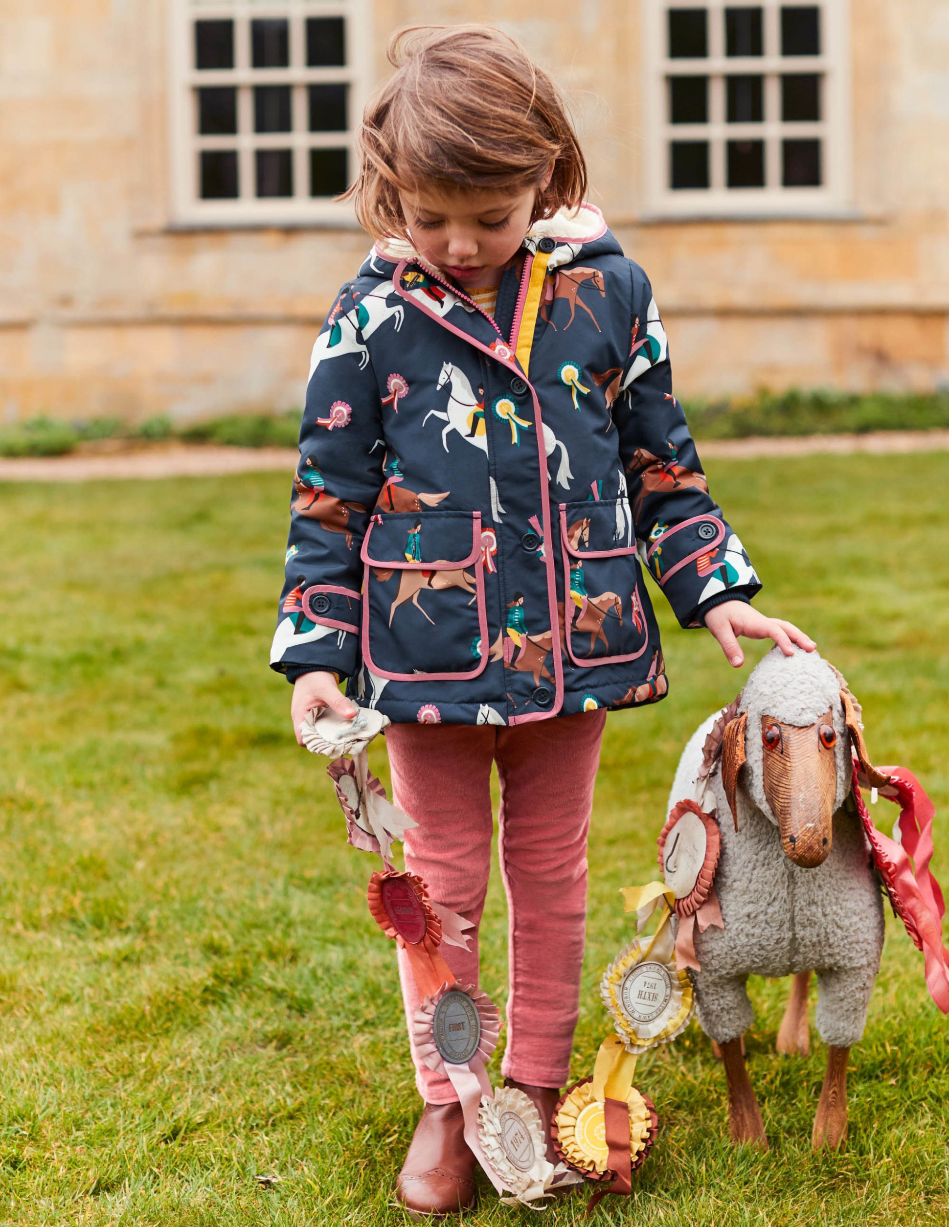 Sherpa-Lined Anorak G10 Coats at Boden  Kinderkleidung, Mantel