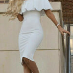 Simply Stunning White Dress Party, White Homecoming Dresses Weißes Enges Kleid
