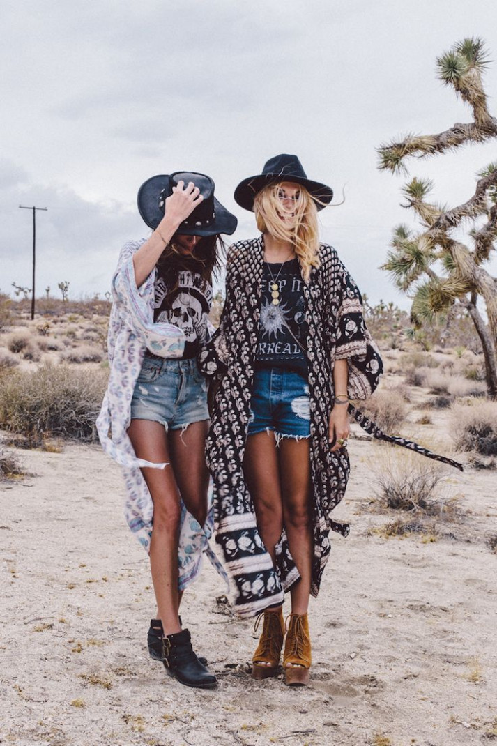 threadsence coachella fashion, fashion, boho fashion hippie outfit frauen