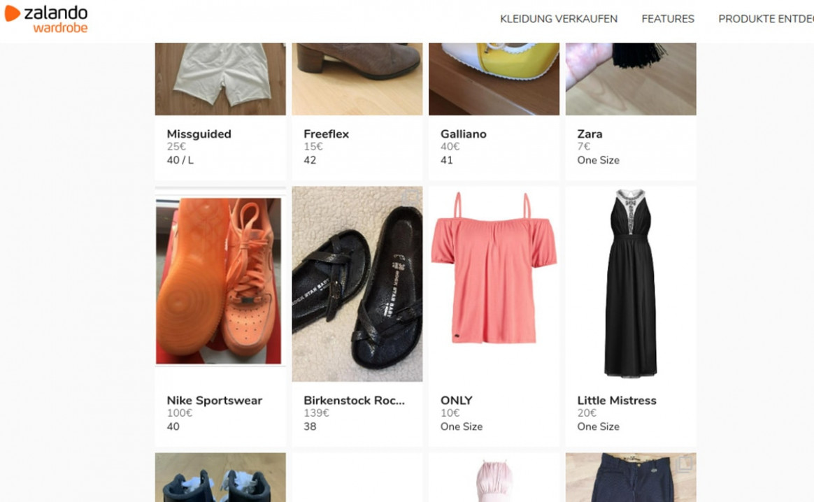 Zalando experimentiert mit Second-Hand Mode